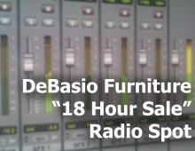 "DeBasio ""18hr Sale"" Radio Spot"